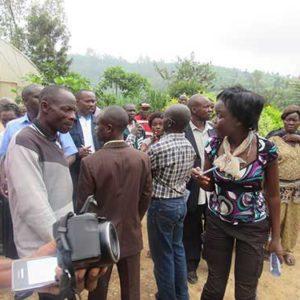 TRAINING FOR UGANDA FARMERS AT RWANDA BEST