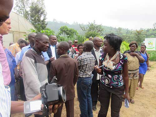 TRAINING FOR UGANDA FARMERS AT RWANDA BEST